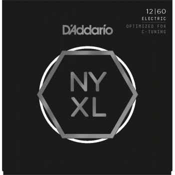 D´addario NYXL1260 Electric C-Tuning cuerdas guitarra eléctrica